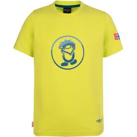 TROLLKIDS Summer Troll T-Shirt Kids, lime/petrol